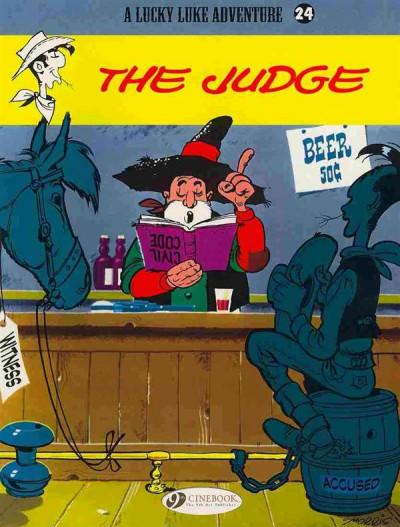 Couverture Lucky luke tome 24 - the judge (en anglais)
