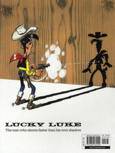 Dos Lucky luke tome 24 - the judge (en anglais)
