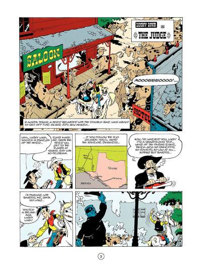 Page 2 Lucky luke tome 24 - the judge (en anglais)