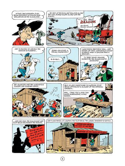 Page 4 Lucky luke tome 24 - the judge (en anglais)