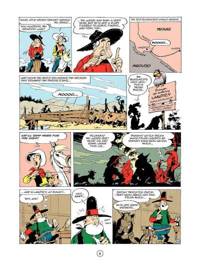 Page 5 Lucky luke tome 24 - the judge (en anglais)