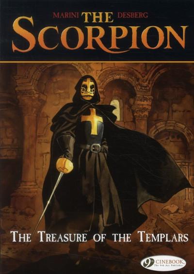 image de The scorpion tome 4 - the treasure of the tem - en anglais