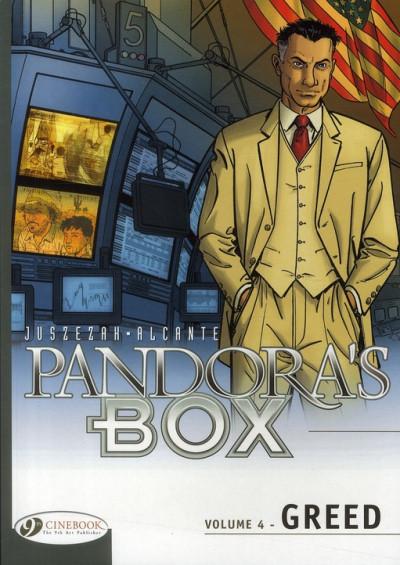 Couverture Pandora's box tome 4 - greed (anglais)
