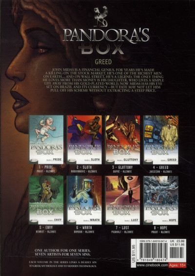 Dos Pandora's box tome 4 - greed (anglais)