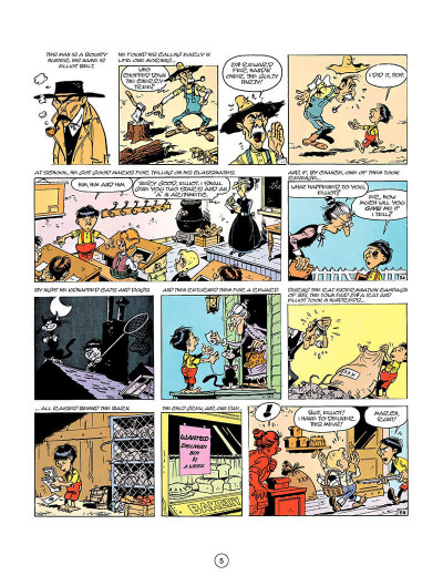 Page 4 Lucky Luke tome 26 - the bounty hunter (en anglais)