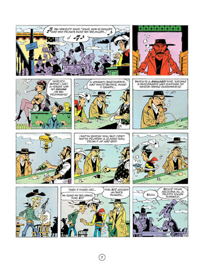 Page 6 Lucky Luke tome 26 - the bounty hunter (en anglais)