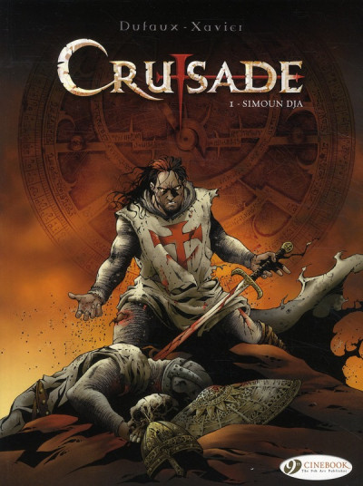 Couverture Crusade tome 1 (en anglais)