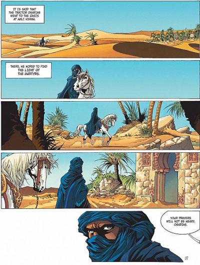 Page 1 Crusade tome 1 (en anglais)