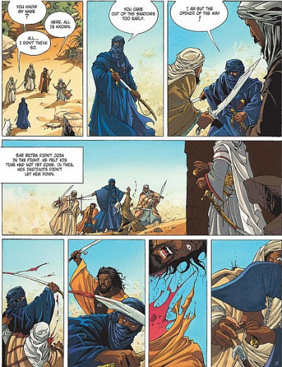 Page 2 Crusade tome 1 (en anglais)
