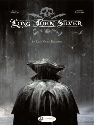 Couverture Long John Silver tome 1 - lady Vivian Hastin - en anglais