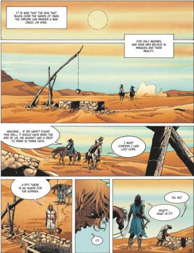 Page 1 Crusade tome 2 (en anglais)