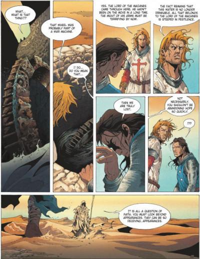 Page 2 Crusade tome 2 (en anglais)