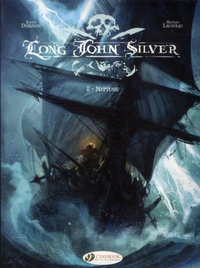 Couverture Long John Silver tome 2 - Neptune - en anglais
