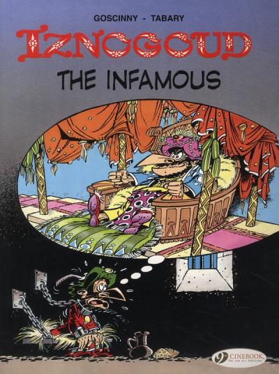 Couverture Iznogoud tome 7 - the infamous - en anglais