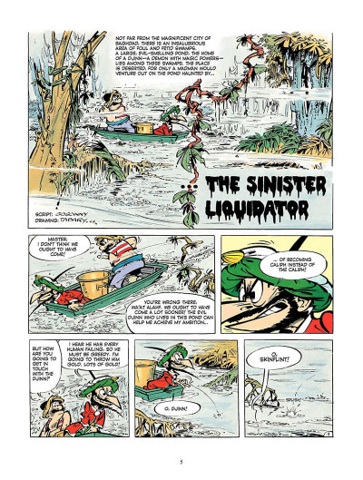 Page 4 Iznogoud tome 7 - the infamous - en anglais