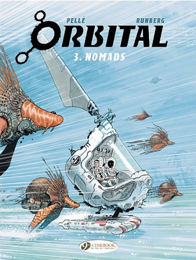 Couverture Orbital tome 3 - nomads - en anglais