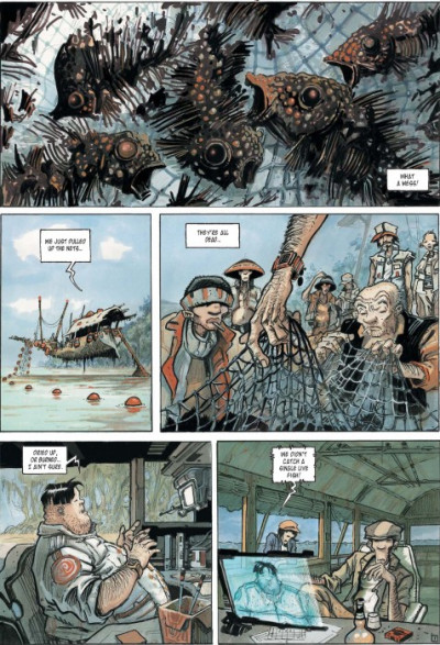 Page 1 Orbital tome 3 - nomads - en anglais