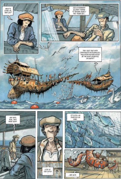 Page 2 Orbital tome 3 - nomads - en anglais
