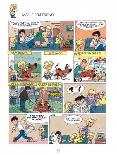Page 1 Cedric tome 3 (en anglais)