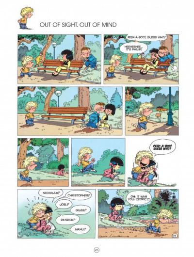 Page 2 Cedric tome 3 (en anglais)