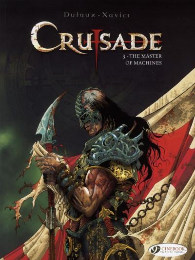 Couverture Crusade tome 3 (en anglais)