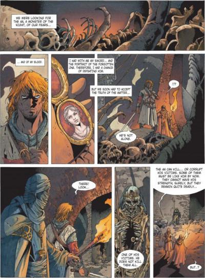 Page 1 Crusade tome 3 (en anglais)