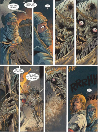 Page 2 Crusade tome 3 (en anglais)