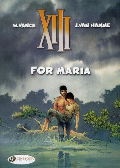 Couverture XIII tome 9 - for Maria - en anglais
