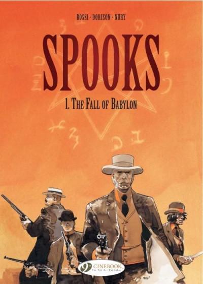 image de Spooks tome 1 - the fall of Babylon