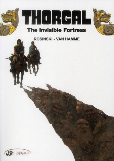 Couverture Thorgal tome 11 - the invisible fortress - en anglais