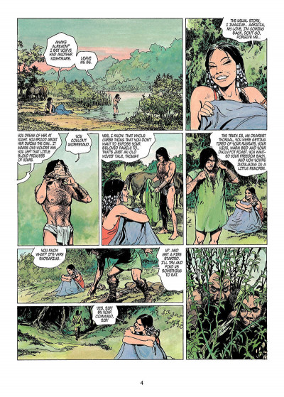 Page 3 Thorgal tome 11 - the invisible fortress - en anglais