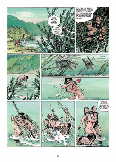 Page 4 Thorgal tome 11 - the invisible fortress - en anglais
