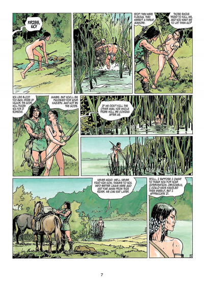 Page 6 Thorgal tome 11 - the invisible fortress - en anglais