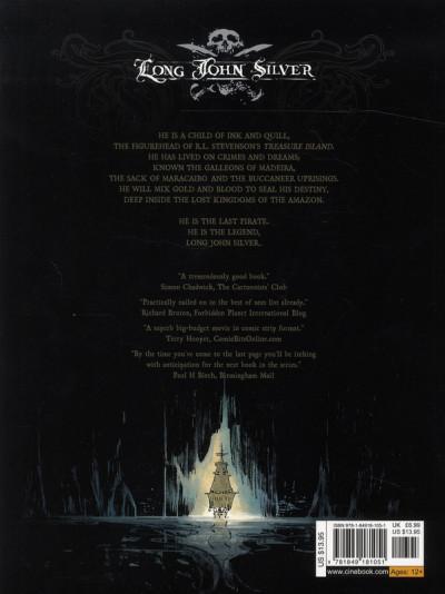 Dos Long John Silver tome 3 - the emerald maze - en anglais