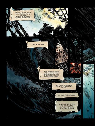 Page 5 Long John Silver tome 3 - the emerald maze - en anglais