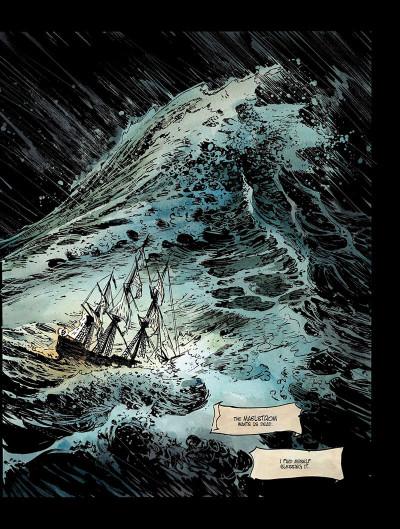 Page 6 Long John Silver tome 3 - the emerald maze - en anglais