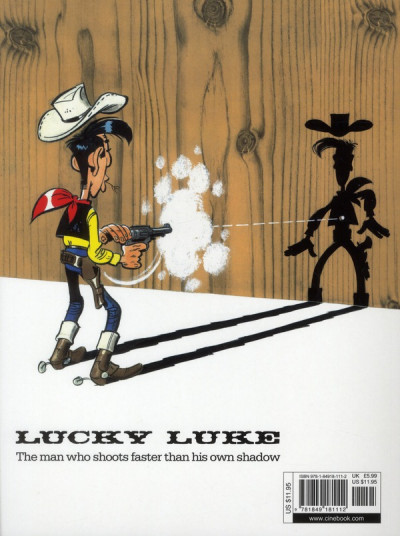 Dos Lucky luke tome 33 - the one-armed bandit (en anglais)