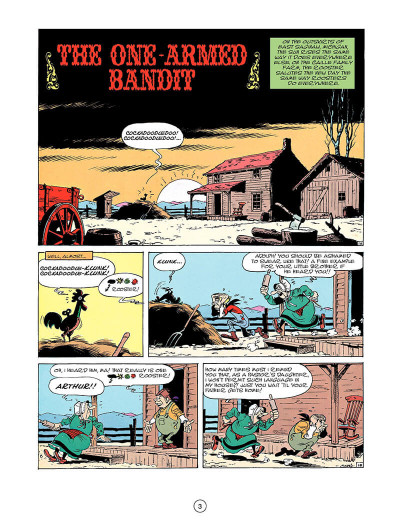 Page 2 Lucky luke tome 33 - the one-armed bandit (en anglais)