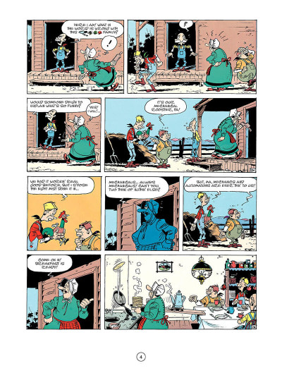 Page 3 Lucky luke tome 33 - the one-armed bandit (en anglais)