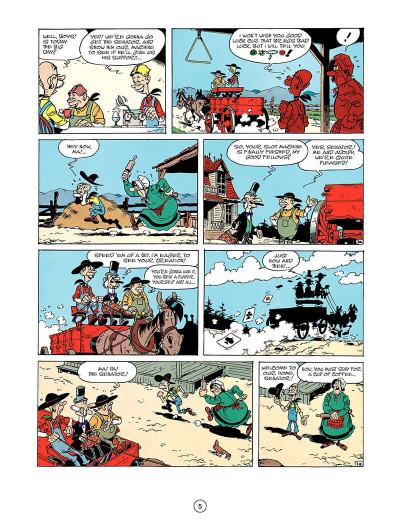 Page 4 Lucky luke tome 33 - the one-armed bandit (en anglais)