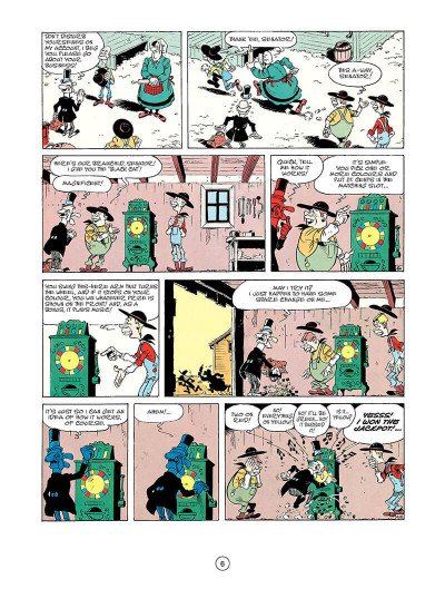 Page 5 Lucky luke tome 33 - the one-armed bandit (en anglais)