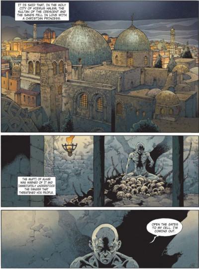 Page 1 Crusade tome 4 (en anglais)