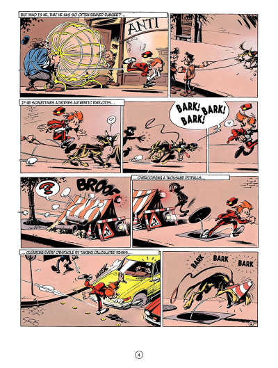 Page 3 Spirou and fantasio tome 3 - running scared - en anglais