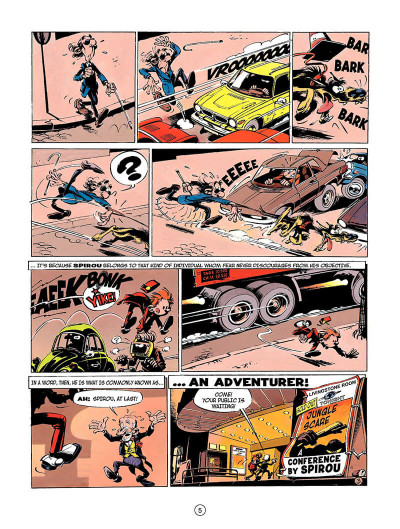 Page 4 Spirou and fantasio tome 3 - running scared - en anglais