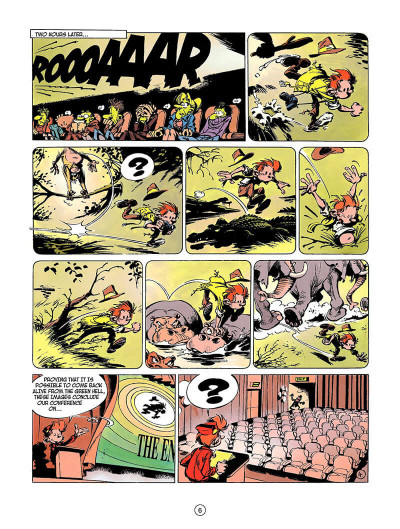 Page 5 Spirou and fantasio tome 3 - running scared - en anglais