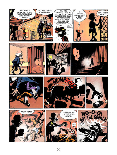 Page 6 Spirou and fantasio tome 3 - running scared - en anglais