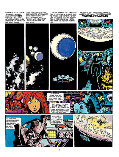 Page 2 Valerian tome 3 - the land without stars - en anglais