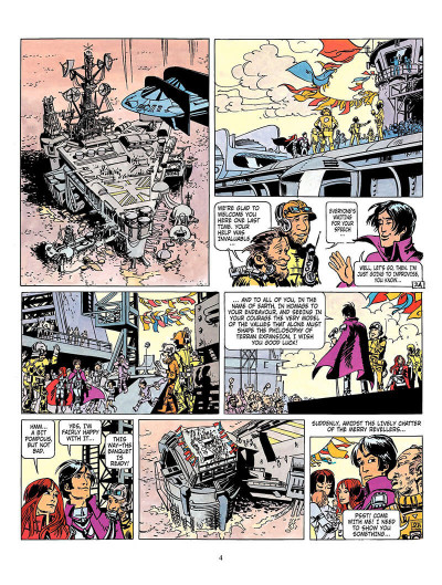 Page 3 Valerian tome 3 - the land without stars - en anglais