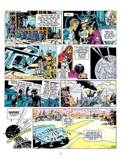 Page 5 Valerian tome 3 - the land without stars - en anglais