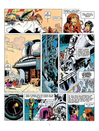 Page 6 Valerian tome 3 - the land without stars - en anglais